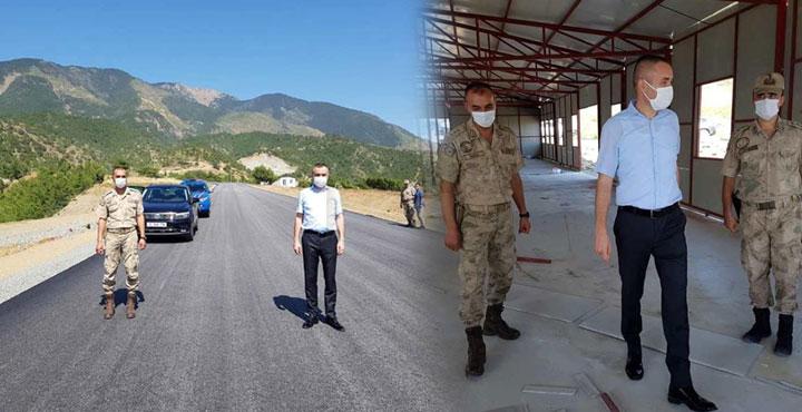 Arsuz-Samandağ Yolunda Kale Karakolu Yeniden İnşa Edilecek
