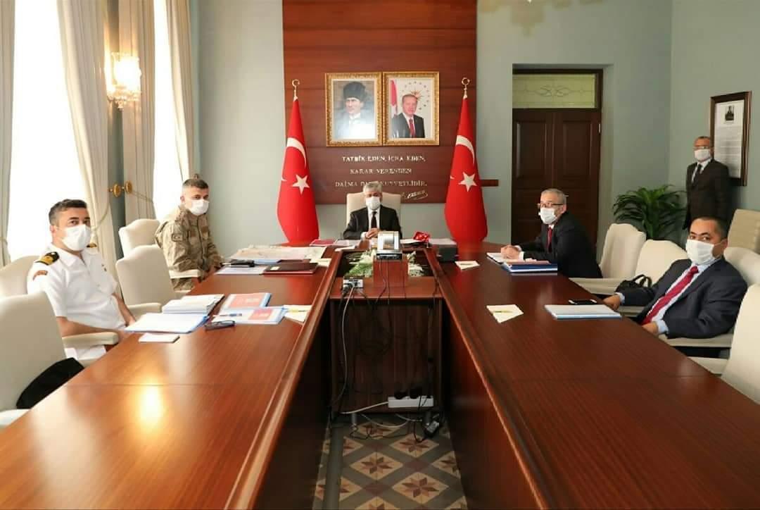 Vali Doğan, Akdeniz Bölgesi Emniyet ve Asayiş Toplantısına Katıldı