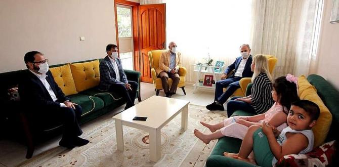 Yönden ve Tosyalı'dan Şehit Ailesine Bayram Ziyareti