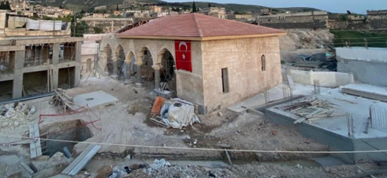 Suriye'de Bombalanan Cami ve Türbeler Türkiye Tarafından Onarılıyor