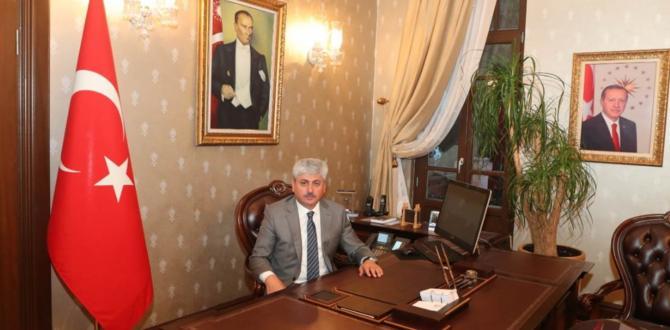 Vali Rahmi Doğan'ın Ramazan Bayramı Kutlama Mesajı