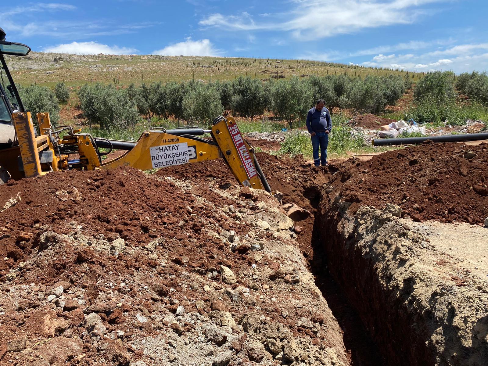 Kırıkhan Hurdacılar Sitesinde Alt Yapı Çalışmasına Başlandı