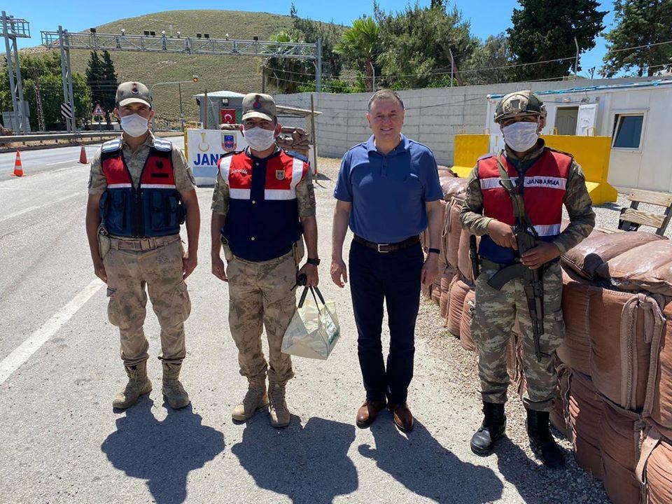 Başkan Savaş'tan Güvenlik Güçlerine Bayram Ziyareti