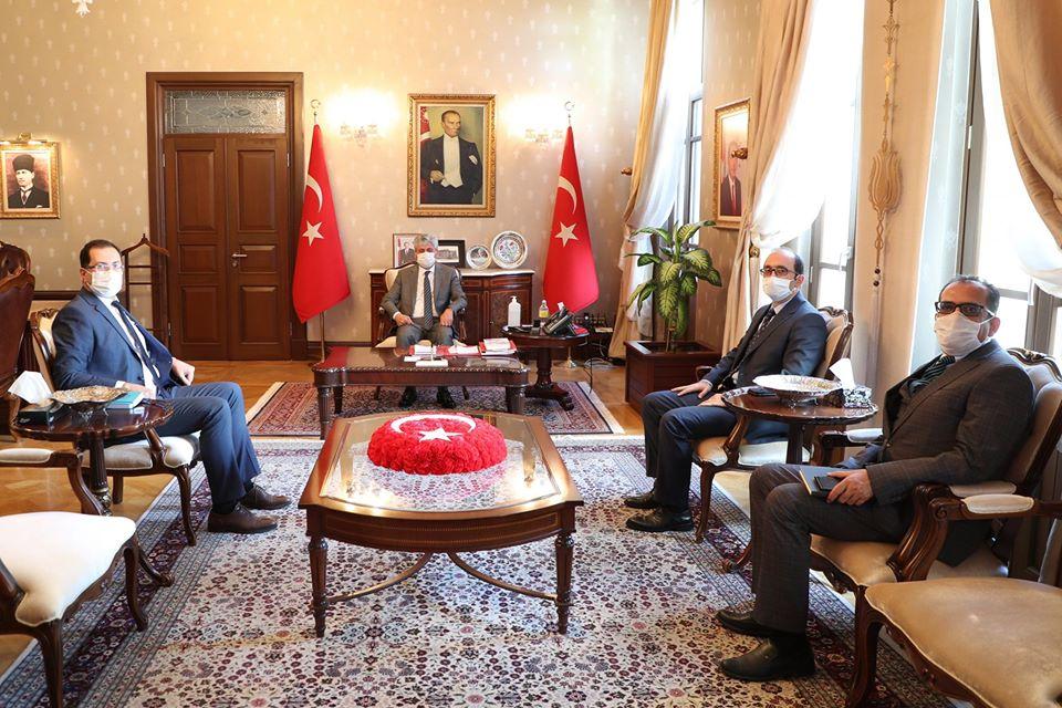DSİ Bölge Müdürü Balta'dan Vali Doğan'a Ziyaret