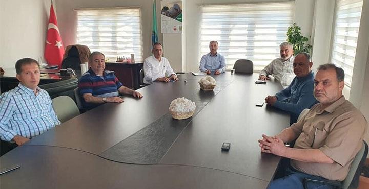 Çolakoğlu, Ziraat Odası Başkanlarıyla Bir Araya Geldi