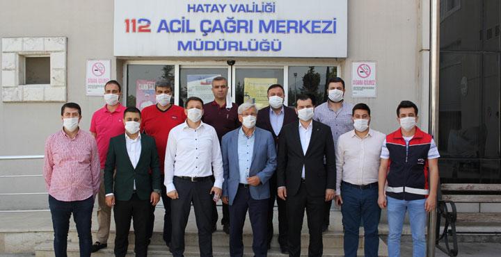 AK Parti'den 112'ye Ziyaret