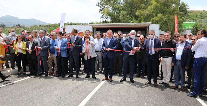 Büyükçat ile Aknehir'i Birbirne Bağlayan Köprü Hizmete Açıldı