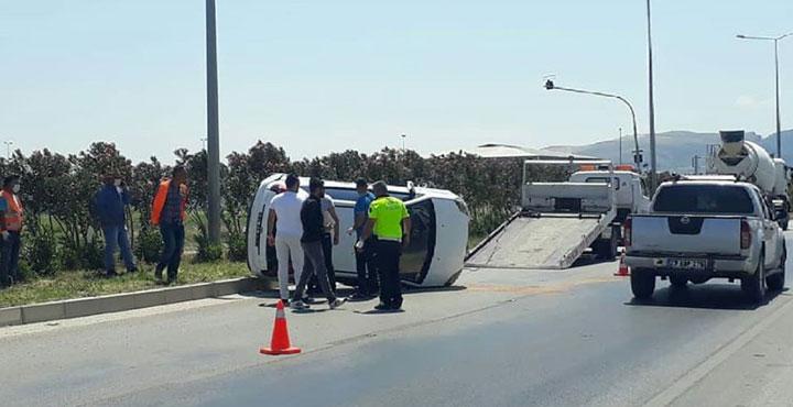 Devlet Hastanesi Yolunda Trafik Kazası