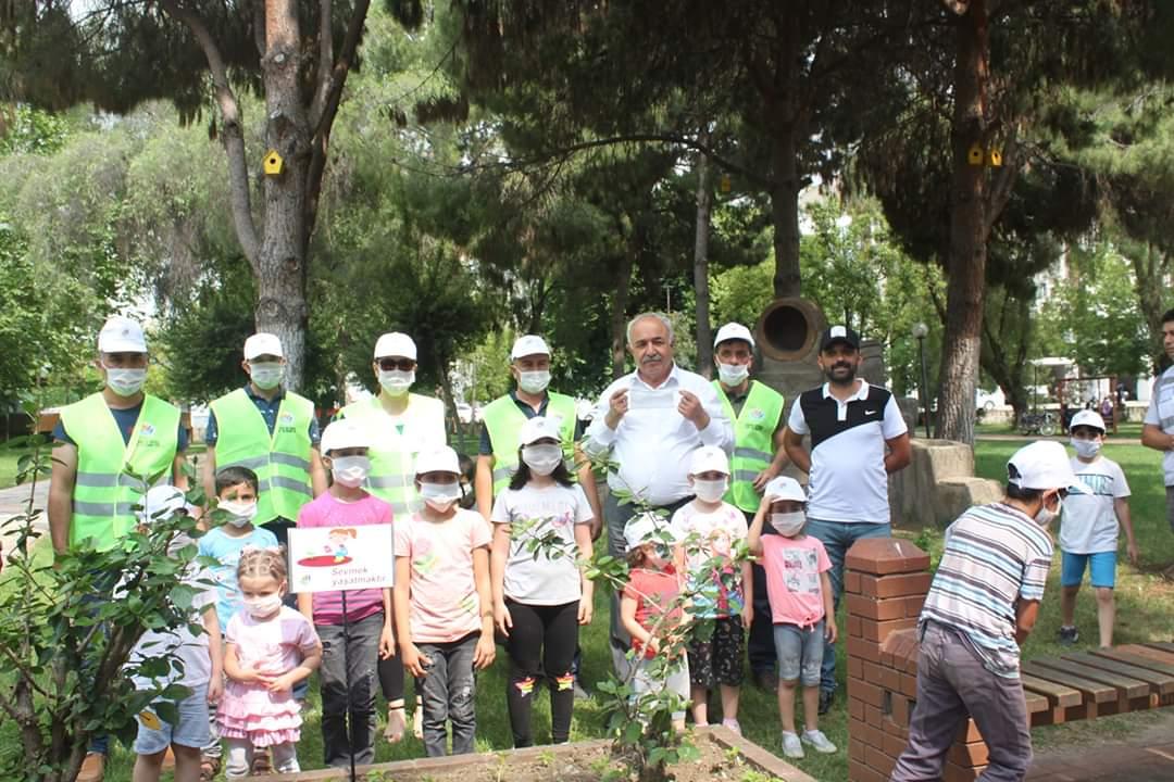 Dörtyol Belediyesi Çevre Ve Şehircilik Hafatsını  Çocuklarla Birlikte Kutladı