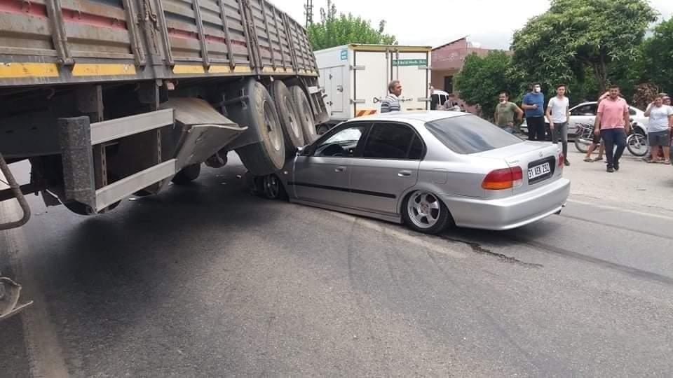 Hatay' Da Trafik Kazası