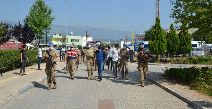 Kırıkhan'da 20 Şüpheli Daha Adliyeye Sevk Edildi