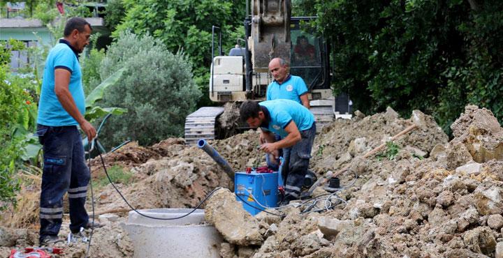 Sürekli Arıza Veren İçme Suyu Şebekesi Yenilendi