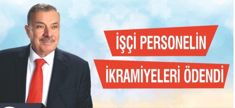 Antakya  Belediyesi İşçi Personeline  İkramiyeleri Ödendi