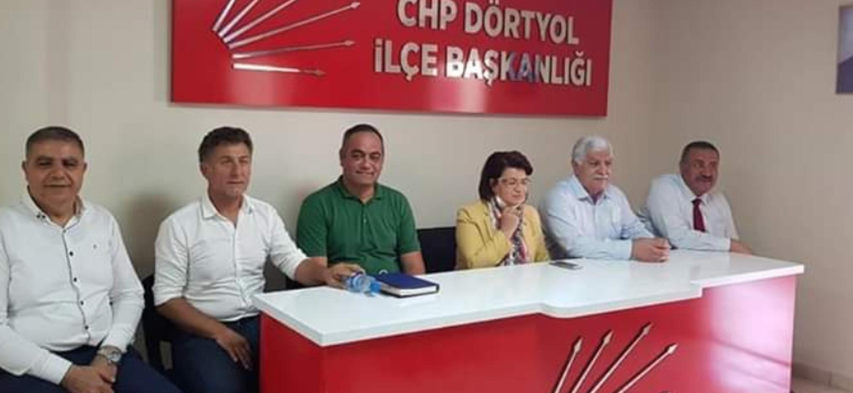CHP Tarım Heyeti Hatay da temaslarda Bulundu