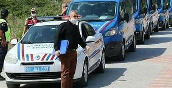 Hatay'da Suç Örgütü Operasyonu 17 Gözaltı