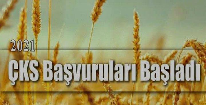 2021 Çiftçi Kayıt Sistemi (ÇKS) Başvuruları Başladı