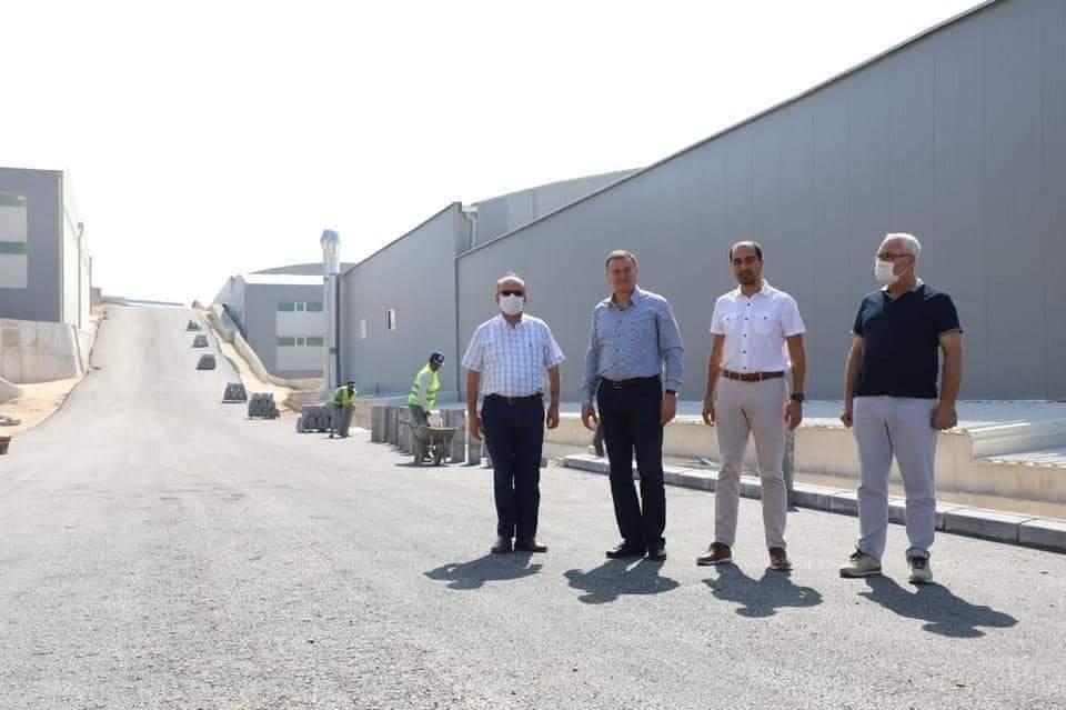 Hatay Büyükşehir Belediyesi Hizmeti Sanayi Sitesi Yollarına Beton Asfalt