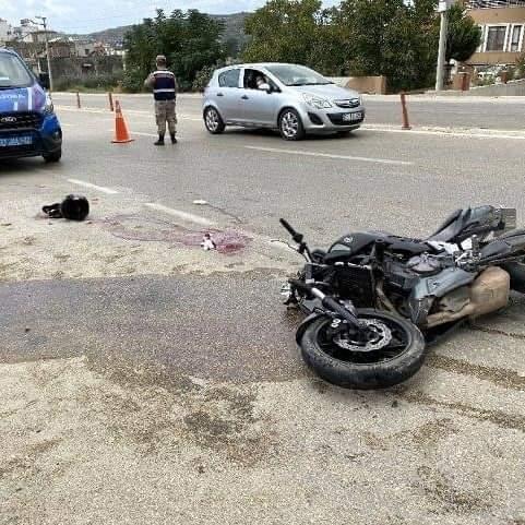 Samandağ'Da Feci Kaza 2 Motorsiklet Çarpıştı 2 Ağır Yaralı Var
