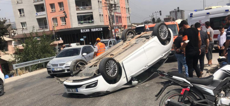Hatay'Da Trafik Kazası; 1 Yaralı