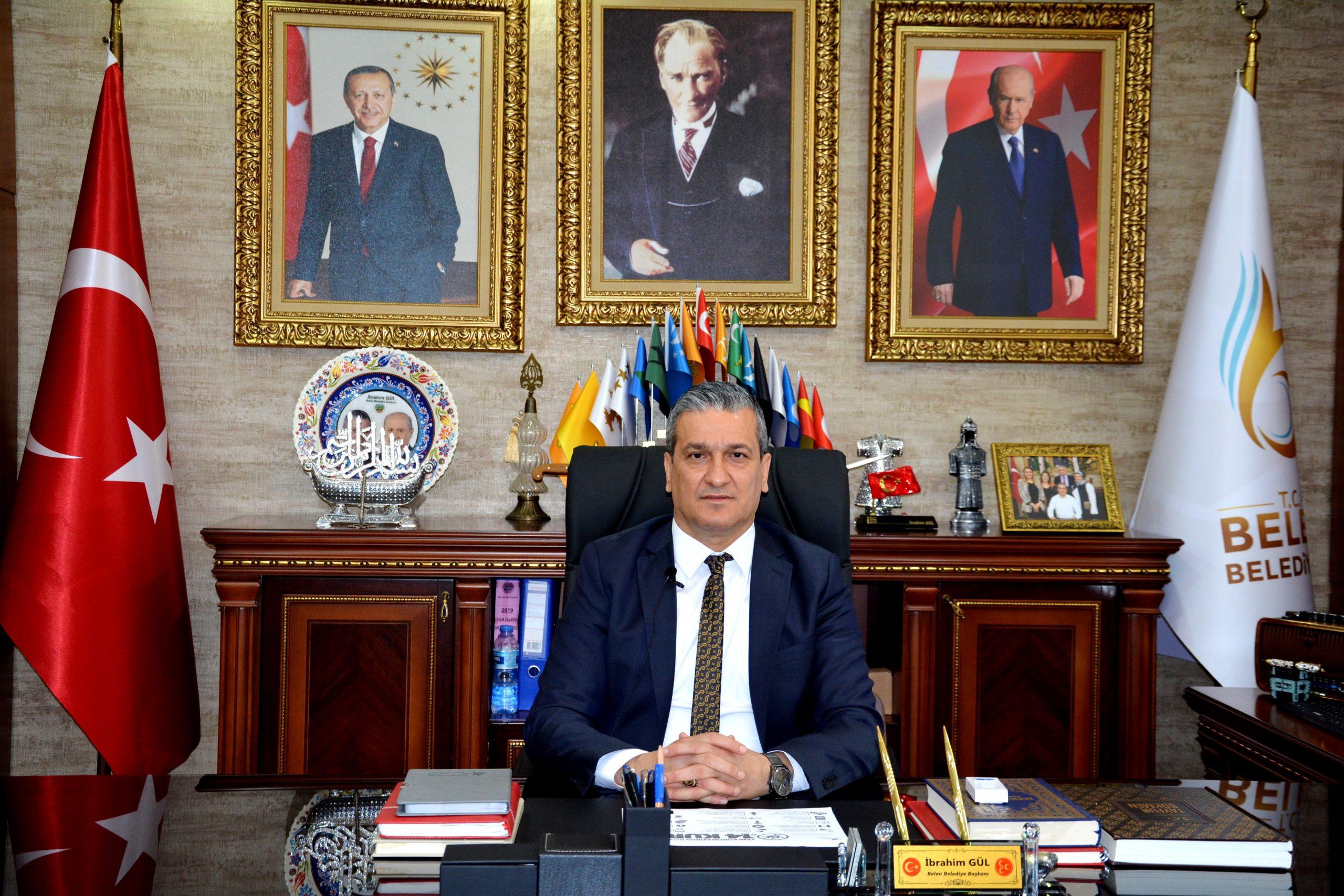 Belen Belediye Başkanı İbrahim Gül; Lütfen Dikkatli Olalım.