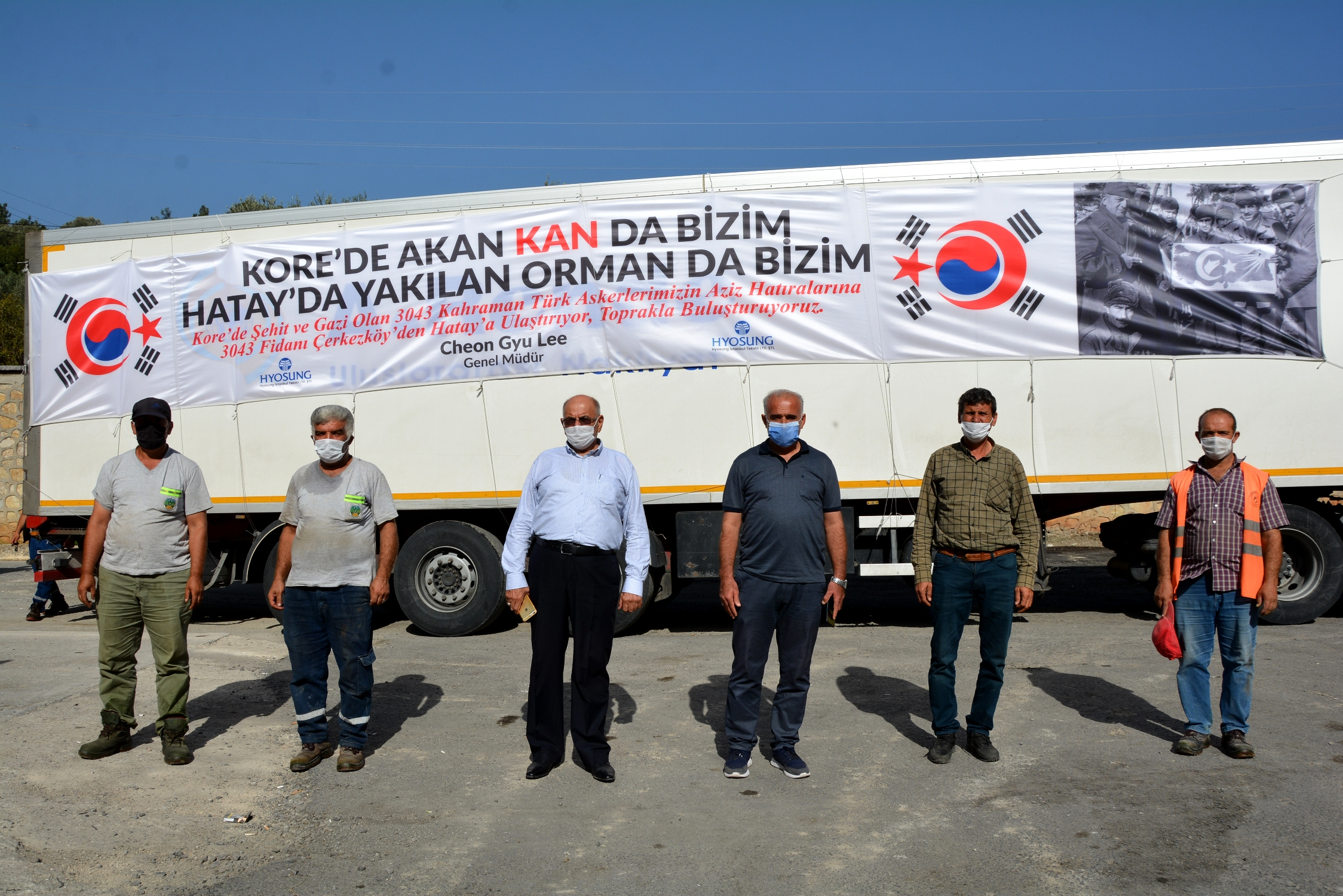 """Kore'De Akan Kan Da Bizim. Hatay'Da Yakılan Orman Da Bizim."""""""