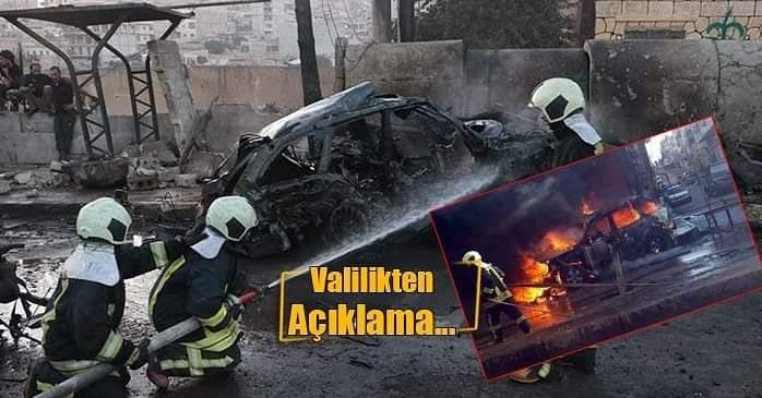 Afrin' De Bomba Yüklü Araç Patladı; 2 Yaralı