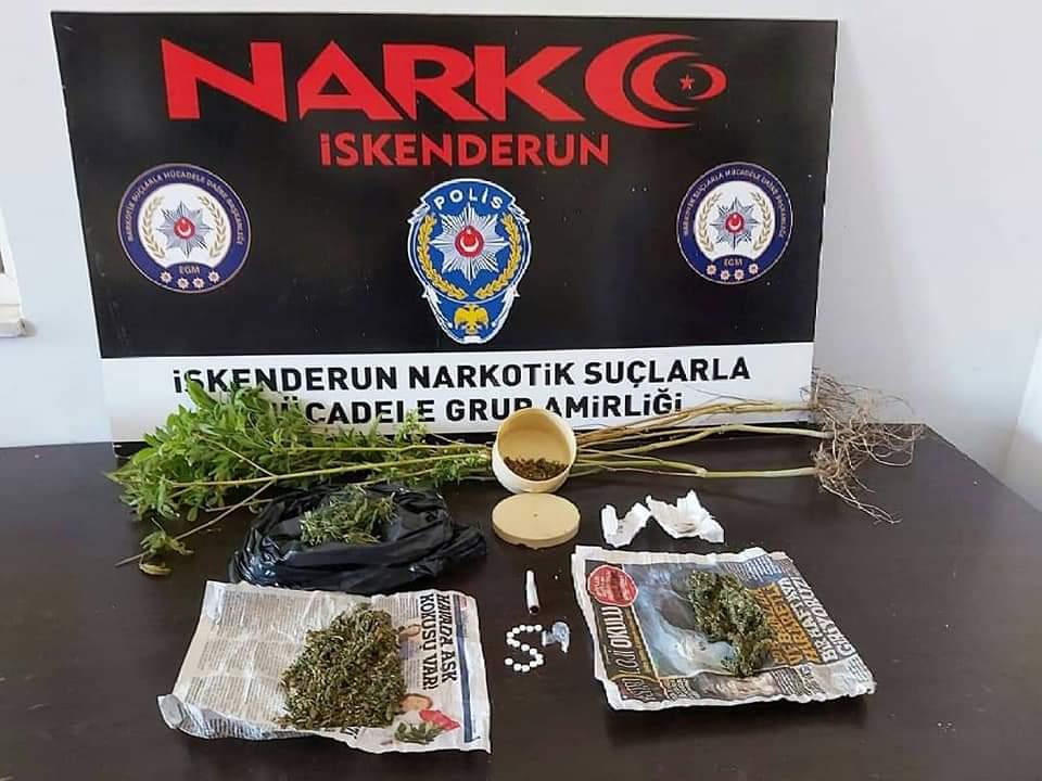 NSM Ekipleri Uyuşturuculara  Göz Açtırmıyor