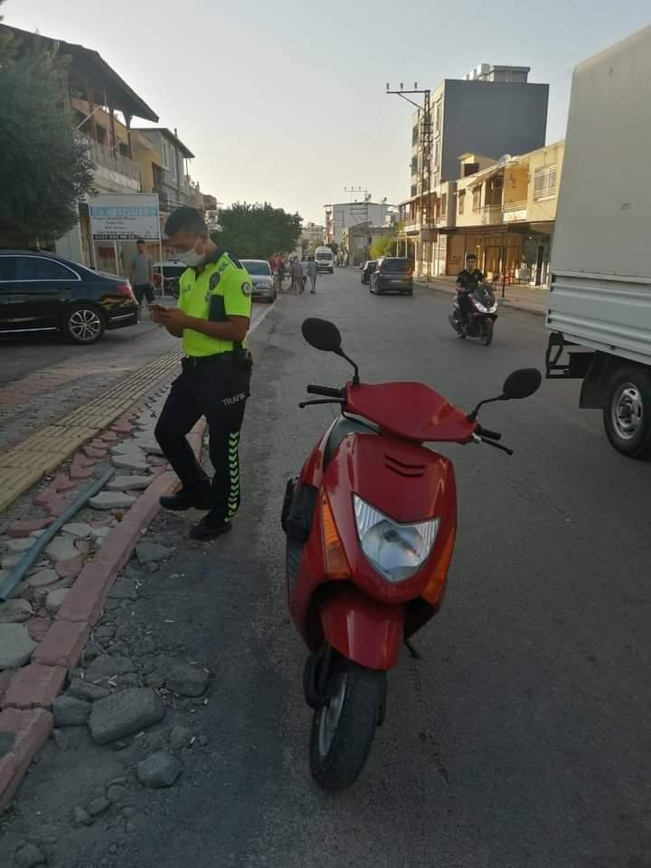 Arsuz'Da Egzozu Açık Motosikletlere Geçit Yok !!!
