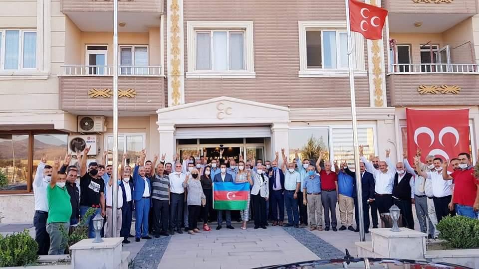 Başkan Türk, MHP İl Toplantısına Katıldı