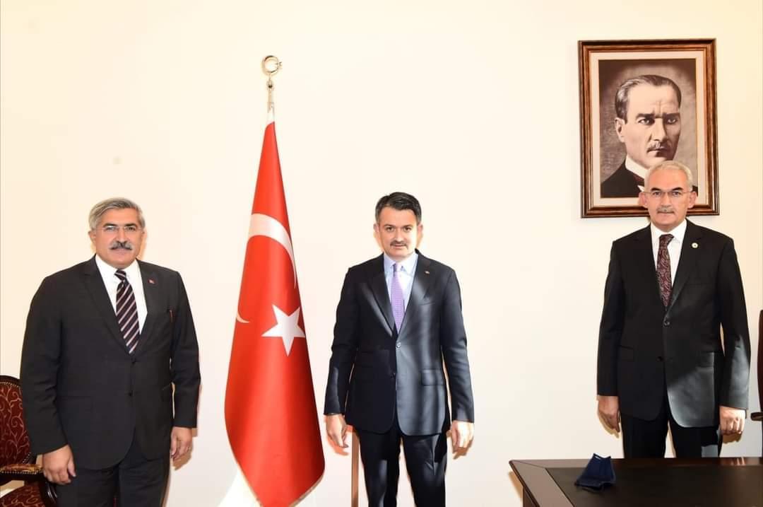 """Milletvekili Hüseyin Yayman Hatay'A """"Hatay Orman Bölge Müdürlüğünün"""" Kurulacağı Müjdesini Verdi"""