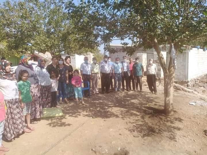 Kırıkhan CHP İlçe Başkanı Mustafa Sıraç, Ve Yönetim Kurulu Köyleri Ziyaret Etti