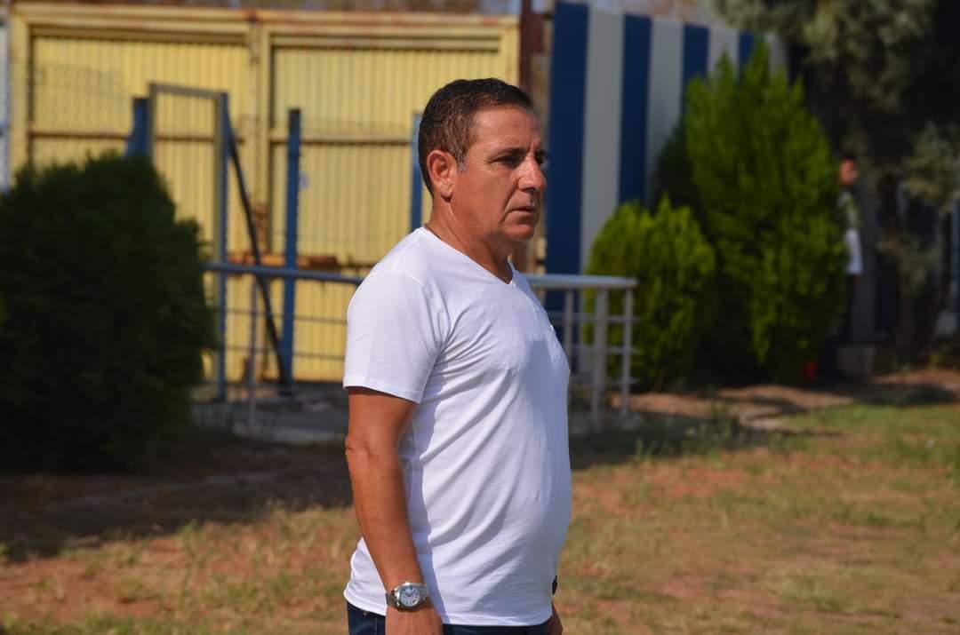 İskenderun Futbol Kulübü Teknik Direktörü Ali Beykoz