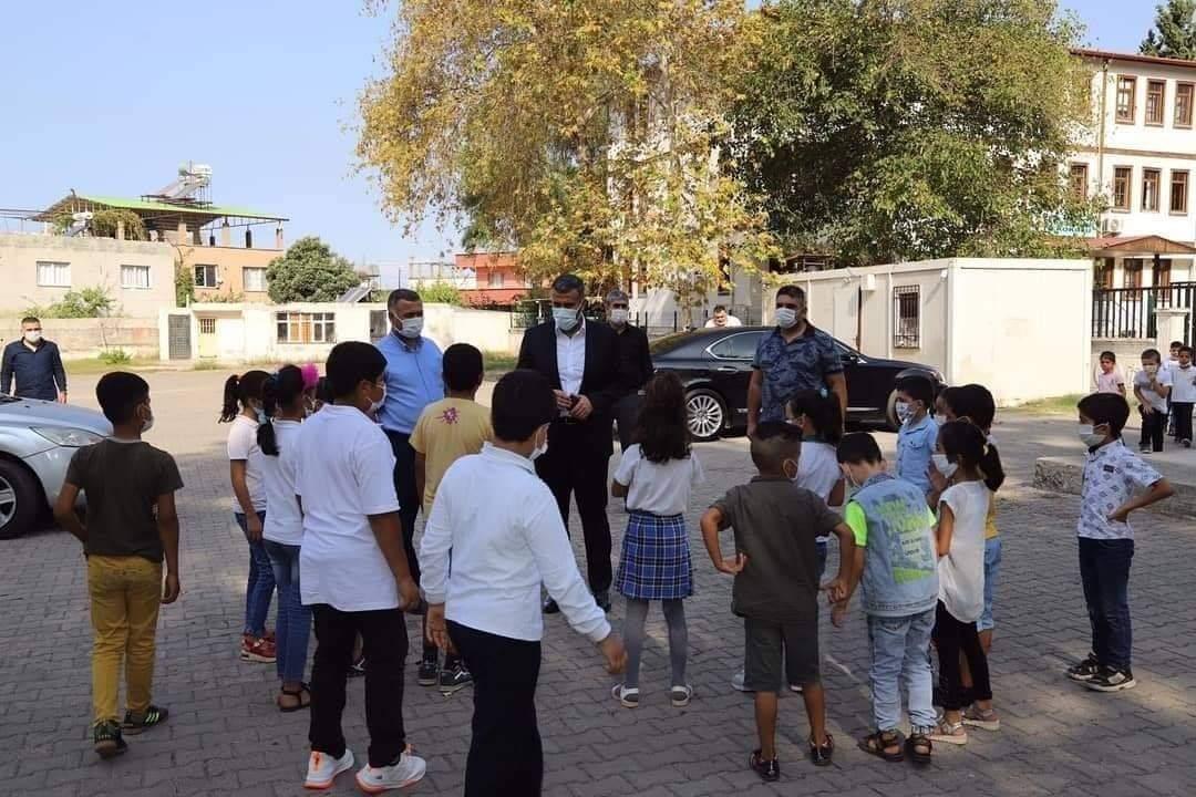 Başkan Altan'dan Okullarda Koronavirüs Denetimi