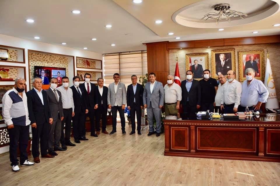Mersin'Den MHP Heyeti Başkanımıza Yangın Nedeniyle Ziyarette Bulundular