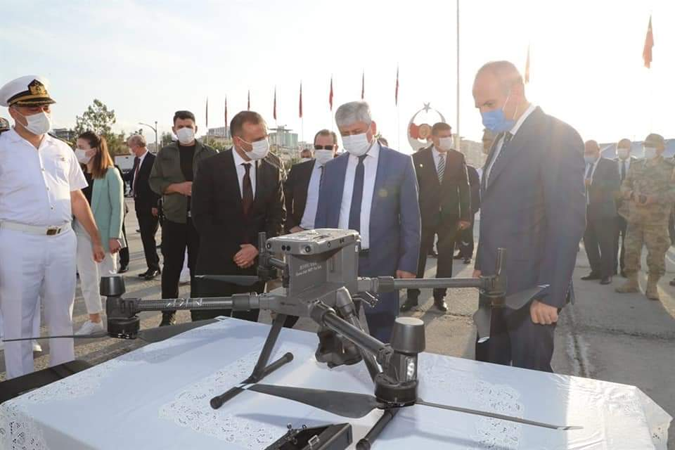 Sahil Güvenlik Botu 6 Araç Ve Drone'Nin Teslim Töreni Gerçekleştirildi