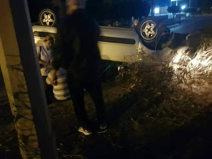 Sarısekide Trafik Kazası 1Yaralı