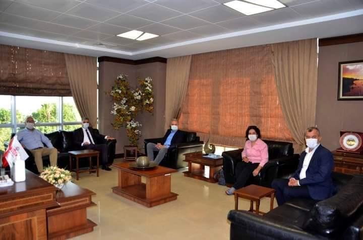 SGK Hatay İl Müdürü Hamit Bal İTSO'yu Ziyaret Etti