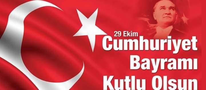 Vali Rahmi Doğan'In 29 Ekim Cumhuriyet Bayramı Mesajı