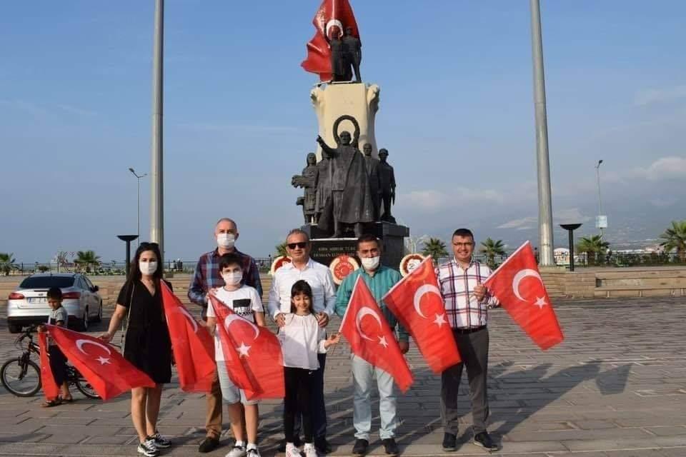 29 Ekim'De Hatay'Da Her Yerde Türk Bayrağı Dalgalanacak