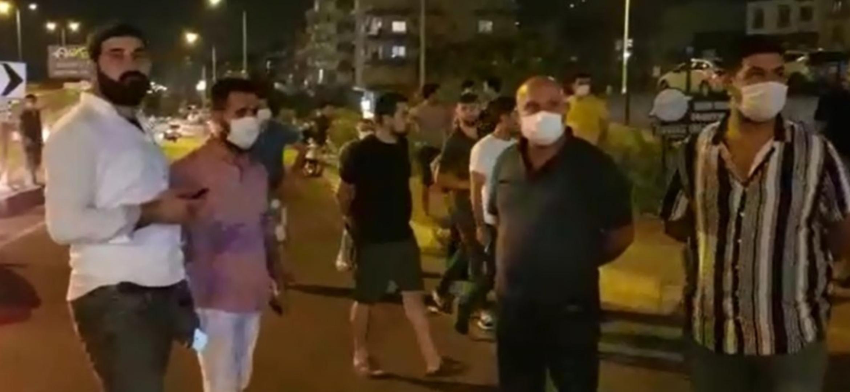 İskenderun'Da Gergin Gece! Sokakta Nöbet Tuttular