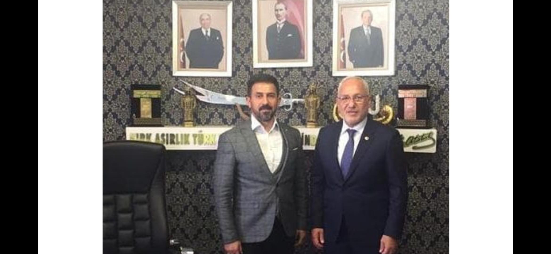 Başkan Tosyalı'dan MHP İl Başkanlığına Ve Ülkü Ocaklarına Ziyaret