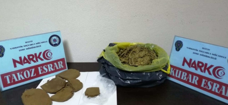 Hatay'Da 4 İlçede Yapılan Uyuşturucu oPerasyonlarında 10 kişi Gözaltına Alındı