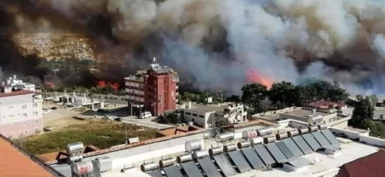 TBMM'Ye Hatay'Daki Yangın Bölgesi AFET Bölgesi İlan Edilsin Talebi