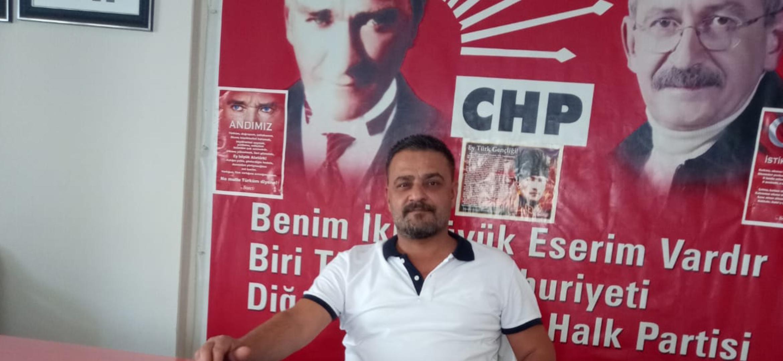 CHP Kırıkhan İlçe Bşk Yrd Murat Ergin.Den Dünya Gazeteciler Günü Kutlu Olsun