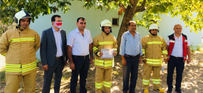 Gönüllü İtfaiyeciler Büyükşehir Bünyesinde Göreve Başlıyor