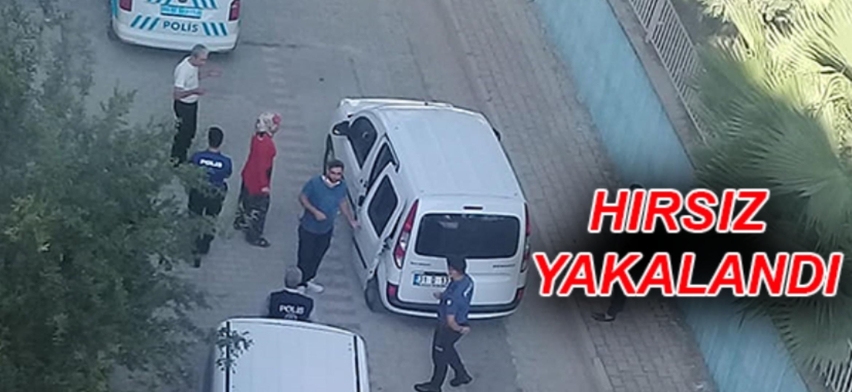 Hatay'Da Kadının Çantasını Çalan Hırsız Yakalandı