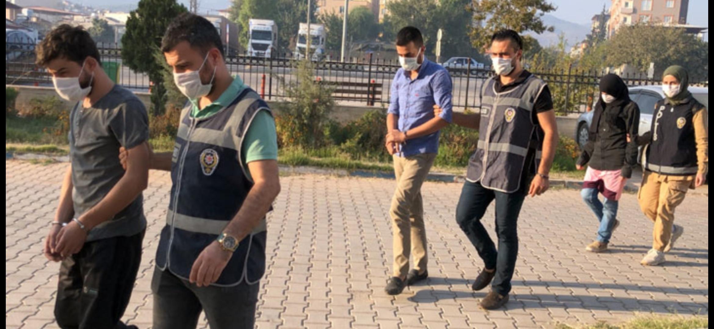 Hatay'Da Uyuşturucu Operasyonunda 3 Kişi Tutuklandı