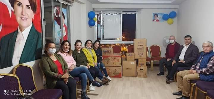 İYİ Parti ilçe Teşkilatından Izmir'E Destek