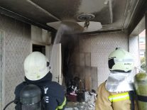 Yeniyurt' Taki Bir Evde Çıkan Yangın İtfaiyenin Hızlı Müdahalesiyle Sö