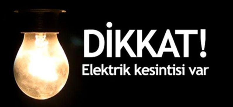 Cumartesi Günü Hatay'Da Elektrik Kesintisi Olacak Mahalleler Belli Oldu